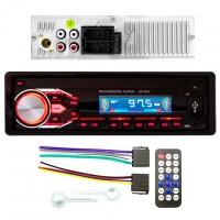 Магнитола SP-3251 ISO не съемная красная USB Micro SD