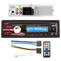 Магнитола SP-5235 ISO не съемная красная USB Micro SD