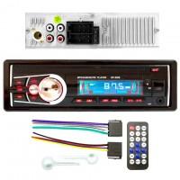 Магнитола SP-3209 ISO не съемная красная USB Micro SD
