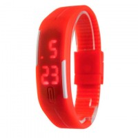 Часы наручные LED Watch A001 красные