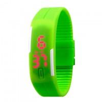Часы наручные LED Watch A001 зеленые