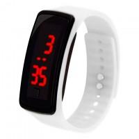 Часы наручные LED Watch A002 белые