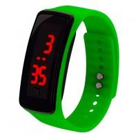 Часы наручные LED Watch A002 зеленые