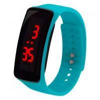 Часы наручные LED Watch A002 бирюзовые