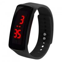 Часы наручные LED Watch A002 черные