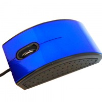 Мышь проводная Mitomin MA-B78 синяя
