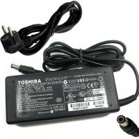 Блок питания для ноутбука TOSHIBA 15V 6A 90W 6.0x3.0 с вилкой
