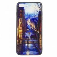 Чехол накладка Glass Case New Apple iPhone 7 Plus, 8 Plus лестница