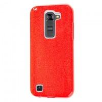 Чехол силиконовый Shine LG Stylo 2 LS775 красный