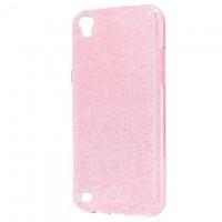 Чехол силиконовый Shine LG X Power K220, K210 розовый