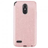 Чехол силиконовый Shine LG Stylo 3 LS777 розовый
