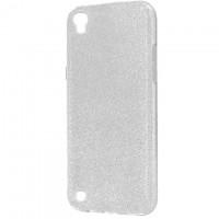 Чехол силиконовый Shine LG X Power K220, K210 серебристый