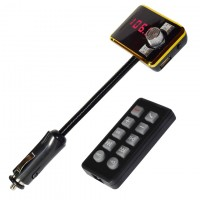 FM модулятор трансмиттер 583 черный