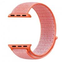 Ремешок Apple Watch Nylon Loop 38mm 04, spicy orange