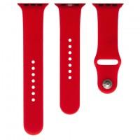 Ремешок Apple Watch Band Silicone Two-Piece 42mm 06, красный