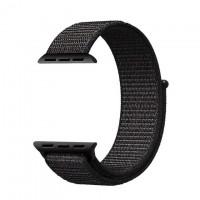 Ремешок Apple Watch Nylon Loop 38mm 07, black