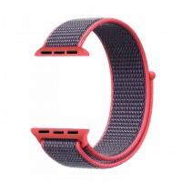 Ремешок Apple Watch Nylon Loop 42mm 03, electric pink