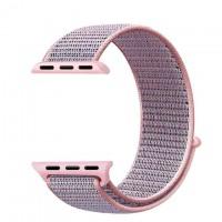 Ремешок Apple Watch Nylon Loop 42mm 05, pink sand