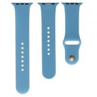 Ремешок Apple Watch Band Silicone Two-Piece 42mm 21, королевский синий