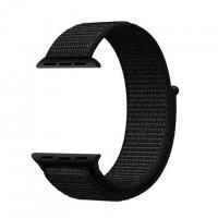 Ремешок Apple Watch Nylon Loop 42mm 09, dark black