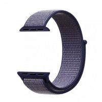 Ремешок Apple Watch Nylon Loop 38mm 01, midnight blue