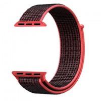 Ремешок Apple Watch Nylon Loop 38mm 10, red black
