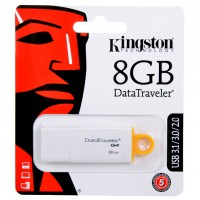USB Флешка 8GB Kingston DTI G4 белая