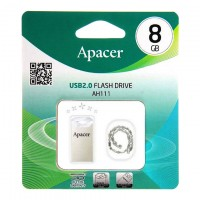 USB Флешка 8GB Apacer AH111 серебристый