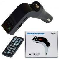 FM модулятор трансмиттер Bluetooth FM-S18 черный