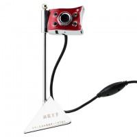 Веб-камера с подсветкой PC-812 красная