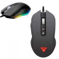 Мышь проводная Fantech X5S Zeus игровая с подсветкой черная