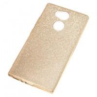 Чехол силиконовый Shine Sony Xperia L2 золотистый