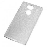 Чехол силиконовый Shine Sony Xperia L2 серебристый