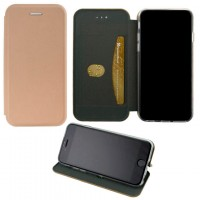 Чехол-книжка Elite Case Samsung S10 Lite G770 розово-золотистый