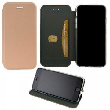 Чехол-книжка Elite Case Samsung A72 2021 A725 розово-золотистый в Одессе