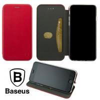 Чехол-книжка Baseus Premium Edge Meizu X8 красный