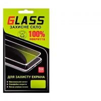 Защитное стекло Full Glue Samsung A60 2019 A606 black Glass