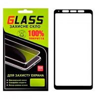 Защитное стекло Full Screen Samsung A9 2018 A920 black Glass