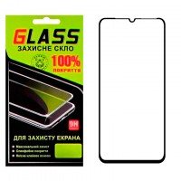Защитное стекло Full Glue Samsung A30 2019 A305 black Glass