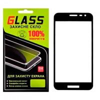 Защитное стекло Full Screen Samsung J2 Core J260 black Glass