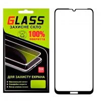 Защитное стекло Full Glue Huawei Y7 2019, Y7 Pro 2019 black Glass