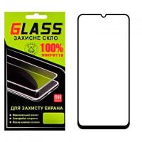 Защитное стекло Full Glue Samsung A70 2019 A705 black Glass