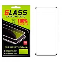 Защитное стекло Full Glue Samsung A80 2019 A805 black Glass