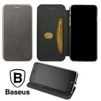 Чехол-книжка Baseus Premium Edge Meizu X8 серый