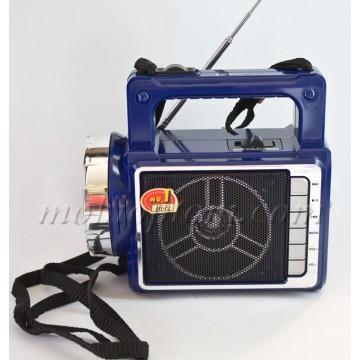Радиоприемник Puxing PX-40UR фонарик-USB-SD-AUX синий в Одессе