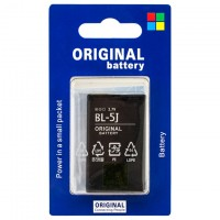 Аккумулятор Nokia BL-5J 1320 mAh 5228, 5230, 5233 AA/High Copy блистер