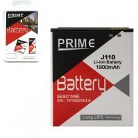 Аккумулятор PRIME Samsung EB-BJ110ABE 1900 mAh J1 Ace J110 100% Емкость AAAA/Original Prime