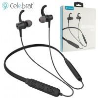 Bluetooth наушники с микрофоном Celebrat A15 черные