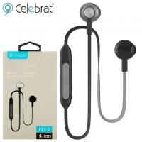 Bluetooth наушники с микрофоном Celebrat FLY-5 черные
