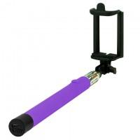 Монопод селфи палка Z07-5F Bluetooth фиолетовый